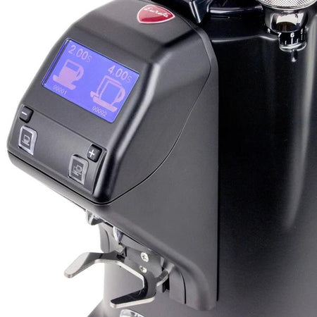 Eureka Olympus 75E High Speed Espresso Coffee Grinder - display detail - at Total Espresso