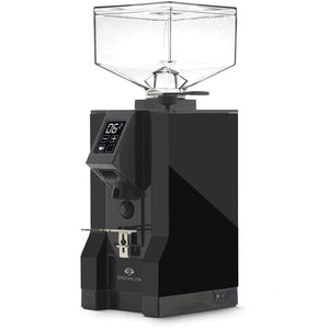 Eureka Mignon Specialita Stepless Doserless Coffee Grinder - Black body with black chute - at Total Espresso