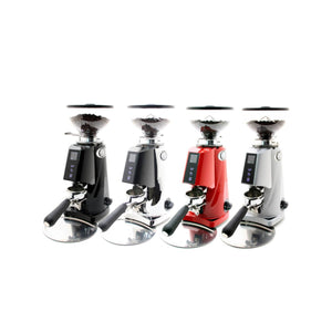 Fiorenzato F4E Nano V2 Electronic Espresso Grinder - shown in all four colors - at Total Espresso