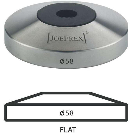 58 mm diameter Flat Tamper Base - at Total Espresso
