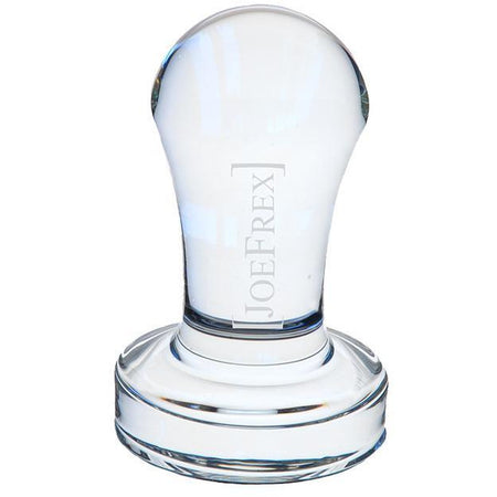 Crystal Clear Glass Tamper - 58 mm - at Total Espresso