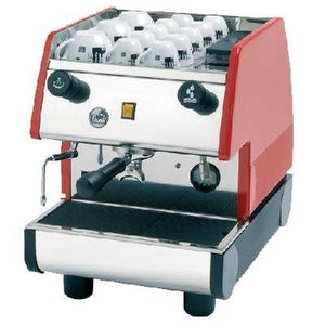 La Pavoni PUB Commercial Espresso Machine - Single Group Manual - Red - at Total Espresso