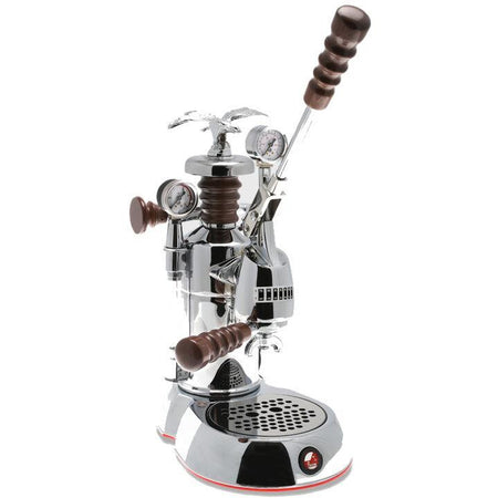 "La Pavoni Esperto Epresso Machine - ""Abile""-chrome tank and base - at Total Espresso"
