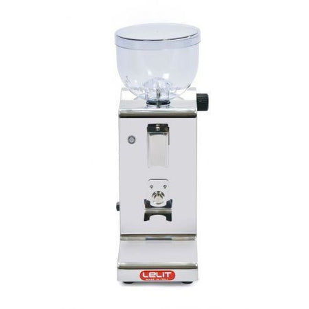 Lelit Fred Stepless, Doserless Espresso Coffee Grinder - PL044MM - front view - at Total Espresso