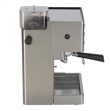 Lelit Kate Espresso Machine with Built-in Grinder – PL82T - Side view - at Total Espresso