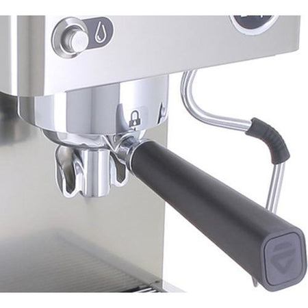 Lelit Victoria Semi-Automatic Espresso Machine (PL91T) - portafilter detail - at Total Espresso