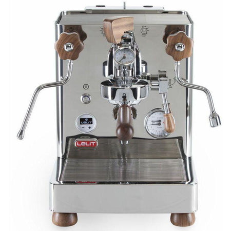 Lelit Bianca - Dual Boiler, PID, Switchable, Manual Pressure Profiling - front view - at Total Espresso