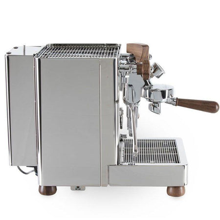 Lelit Bianca - Dual Boiler, PID, Switchable, Manual Pressure Profiling - Side view with water tank in rear - at Total Espresso
