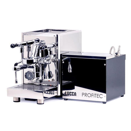 LUCCA S58 Dual Boiler, Switchable, PID Espresso Machine - complete - at Total Espresso