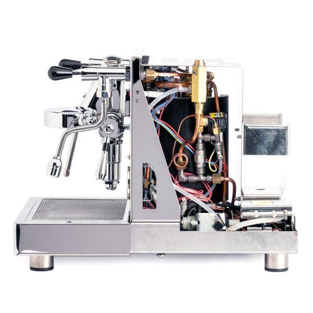 LUCCA X58 Espresso Machine - internal details right side view - at Total Espresso