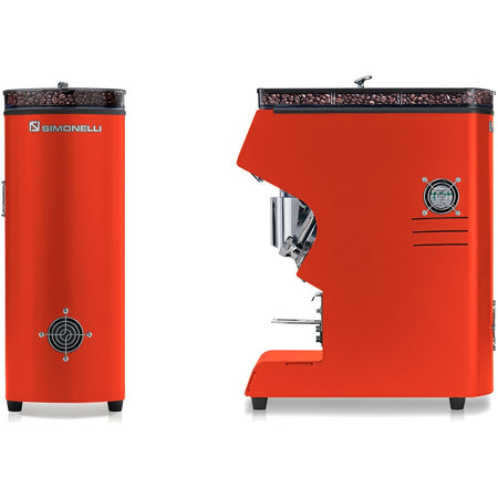 Nuova Simonelli Mythos Commercial Grinder - Red Clima Pro - at Total Espresso