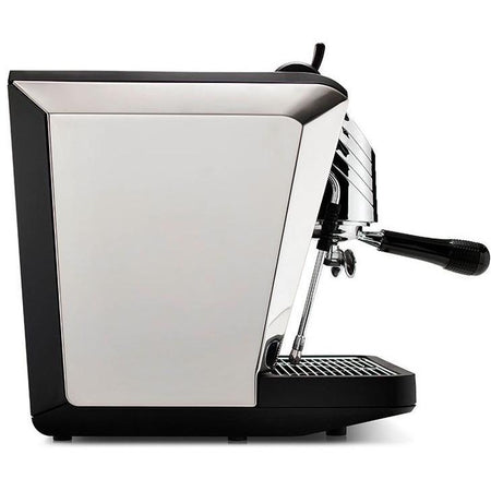 Nuova Simonelli Oscar II Espresso Machine - Black side view - at Total Espresso
