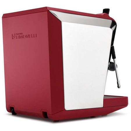 Nuova Simonelli Oscar II Espresso Machine - Red rear view - at Total Espresso