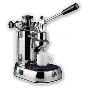 La Pavoni Professional Chrome, PC-16 - at Total Espresso