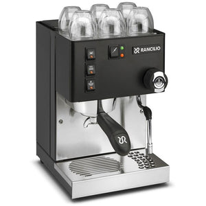 Rancilio Silvia Home Espresso Machine BLACK Limited Edition 2018 - at Total Espresso