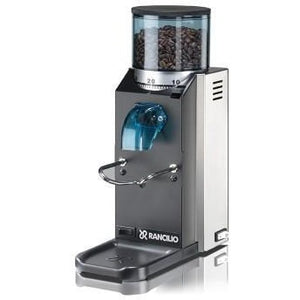 Rancilio Rocky SD grinder – flat burr, stepped, doserless - at Total Espresso