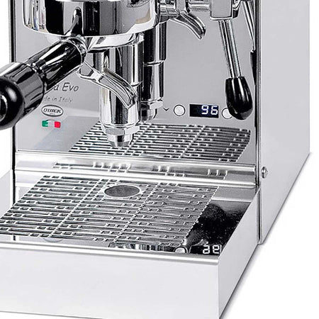 Quick Mill Carola EVO Espresso Machine – for Espresso Only - Single Boiler with E61 - PID detail - at Total Espresso