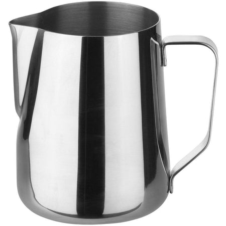 Stainless Steel Steaming and Frothing Milk Pitcher -20 ounces - at Total Espresso
