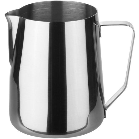 Stainless Steel Steaming and Frothing Milk Pitcher -32 ounces - at Total Espresso