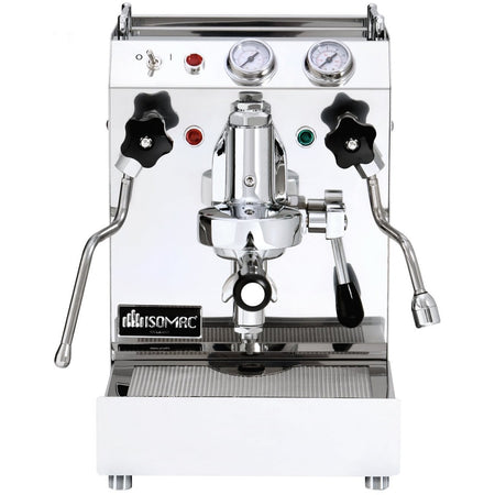 Isomac TEA Semi-Commercial Machine - front view - at Total Espresso