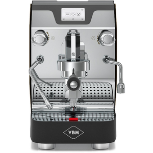 VBM Domobar Super Electronic Digital Dual Boiler Espresso Machine with Flow Control - front view - at Total Espresso