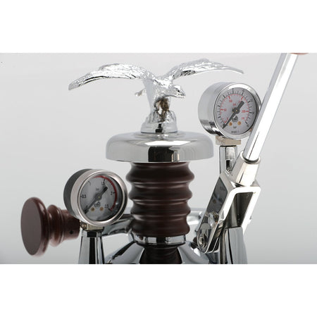 La Pavoni Esperto Epresso Machine - pressure gauges - at Total Espresso