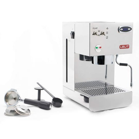 Lelit Glenda PL41PLUS-T - Single Boiler with PID with accessories - at Total Espresso