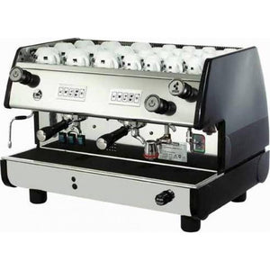 La Pavoni BAR-T Series - 2 Group (Volumetric) Commercial Machine - Black - at Total Espresso