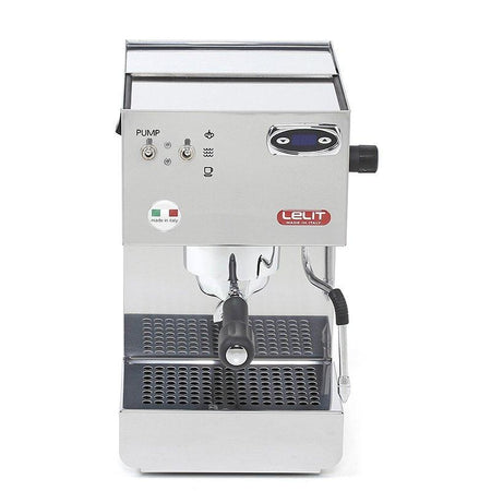 Lelit Glenda PL41PLUS-T - Single Boiler with PID - front view - at Total Espresso
