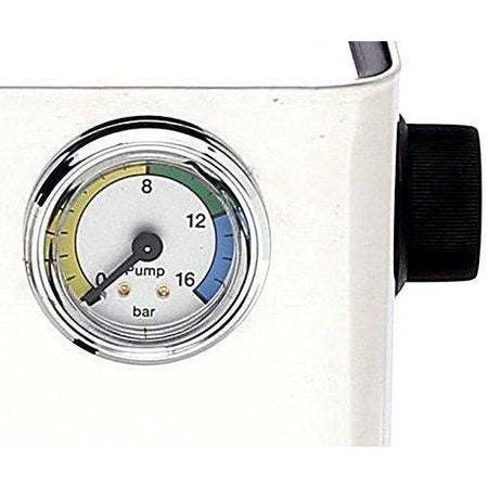 Lelit Anna Espresso Machine - PL41EM - pressure gauge detail - at Total Espresso