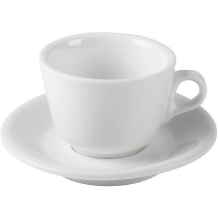 SET OF 6 CAPPUCCINO CUPS & SAUCERS - at Total Espresso