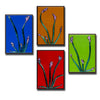 "Floral Gallery Wall Panels Set of 4 ""Buddies Series"" - Made to Order"