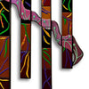 "Extra Large Abstract Wall Art Set of 7 ""Entwined Series"" - Made to Order"