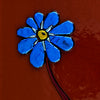 "Small Floral Wall Art Panel ""Forget-me-not Series"" - Made to Order"