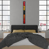"4 FT Flowing Abstract Wall Art ""Go With The Flow Series"" - Made to Order"
