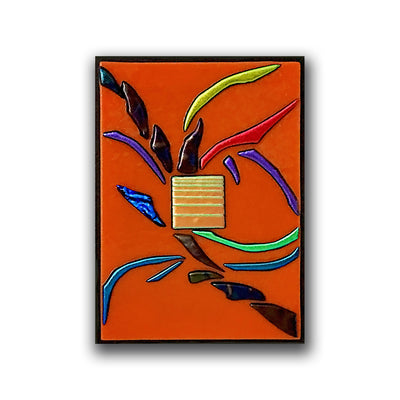 "Abstract Gallery Wall Panels Set of 6 ""Go With The Flow Series"" - Made to Order"