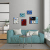 "Gallery Wall Panels Set of 5 ""Go With The Flow Series"" - Made to Order"
