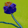 Small Floral Wall Art - Pansy | Viola Bicolor - Made to Order