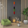 "4 FT Abstract Geometric Wall Art ""Rhythm Series"" - Made to Order"
