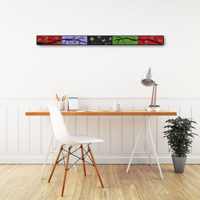 Horizontal 4 FT Tree Branch Wall Art - Ready to Ship