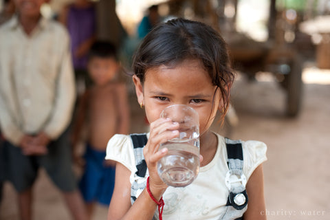purely water supply supports charity water