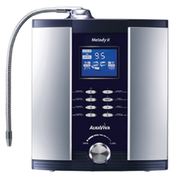 AlkaViva 5-Plate Melody II Alkaline Water Ionizer Machine - Purely Water Supply