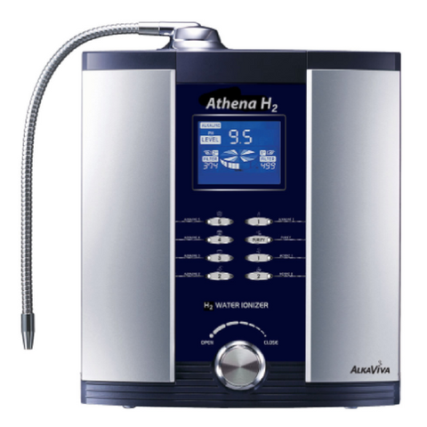 AlkaViva 7-Plate Athena H2 Alkaline Water Ionizer - Purely Water Supply