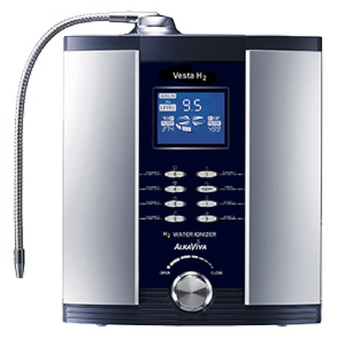 AlkaViva 9-Plate Vesta H2 Alkaline Water Ionizer - Purely Water Supply