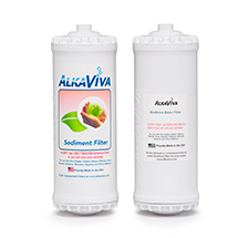 AlkaViva BioStone Basic with Sediment Filters for Athena Alkaline Water Ionizer - Purely Water Supply