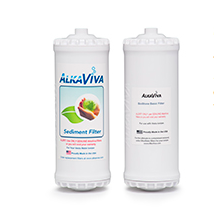 AlkaViva BioStone Basic with Sediment Filters for Vesta GL Alkaline Water Ionizer - Purely Water Supply