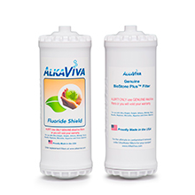 AlkaViva BioStone Plus with Fluoride Shield Filter for Athena Alkaline Water Ionizer - Purely Water Supply