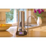 AlkaViva èlita CT-700 Non-Electric Countertop Alkaline Water Ionizer - Purely Water Supply