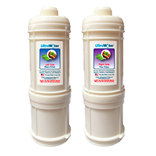 AlkaViva H2 Ionizer Series UltraWater Replacement Filter Package - Purely Water Supply