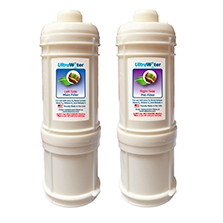 AlkaViva H2 Ionizer Series Well Water .01M Replacement Filter Package - Purely Water Supply